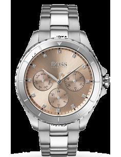 Chic Time | Montre Femme Hugo Boss Premiere 1502444 Argent  | Prix : 279,00€