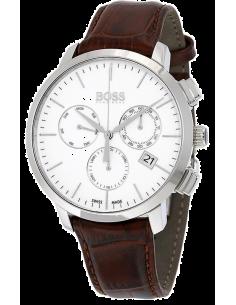 Chic Time | Montre Homme Hugo Boss Swiss Made 1513255 Marron  | Prix : 396,00€