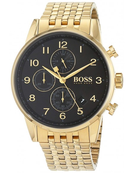 Chic Time | Montre Homme Hugo Boss Navigator 1513531 Or  | Prix : 263,20€