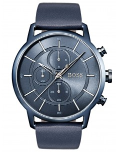 Chic Time | Montre Homme Hugo Boss Architectural 1513575 Bleue  | Prix : 139,60 €