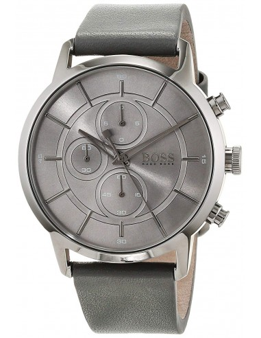 Chic Time | Montre Homme Hugo Boss Architectural 1513570 Gris  | Prix : 209,40 €