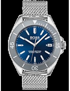 Chic Time | Montre Homme Hugo Boss Ocean Edition 1513571 Argent  | Prix : 199,20€