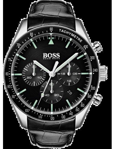 Chic Time | Montre Homme Hugo Boss Trophy 1513625 Noir  | Prix : 197,40€