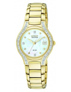 Chic Time | Montre Femme Citizen Eco-Drive Silhouette EW0972-55D  | Prix : 389,40 €