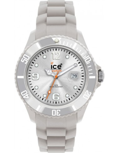 Chic Time | Montre Ice-Watch Grise Sili Forever SI.SR.U.S.09 Silver Unisex  | Prix : 53,94€