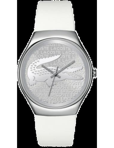 Chic Time   Montre Femme Lacoste Valencia 2000785 Blanc    Prix : 129,00€