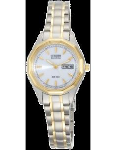 Chic Time   Montre Femme Citizen EW3144-51A Argent    Prix : 137,40€