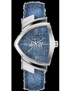 Chic Time   Montre Hamilton H24411941 Ventura Bleu    Prix : 760,50€