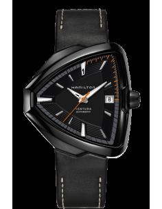 Chic Time | Montre Hamilton H24585731 Ventura Elvis80 Automatique Noir  | Prix : 1,325.00