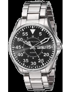 Chic Time | Montre Hamilton H64611135 Khaki Pilot Quartz Argent  | Prix : 535,50€