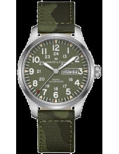 Chic Time | Montre Hamilton H70535061 Khaki Field Automatique Vert  | Prix : 895,00€