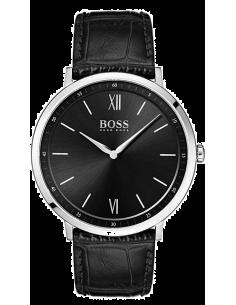 Chic Time | Montre Homme Hugo Boss Essential 1513647 Cuir noir bracelet  | Prix : 249,00€