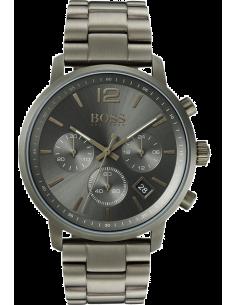 Chic Time | Montre Homme Hugo Boss Attitude 1513610 Chronographe Acier gris  | Prix : 399,00€
