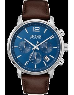 Chic Time | Montre Homme Hugo Boss Attitude 1513606 Chronographe cadran bleu  | Prix : 399,00€