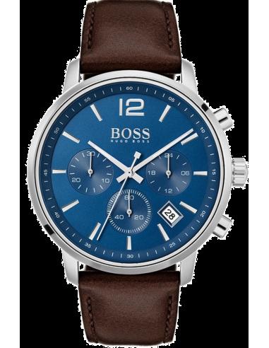 Chic Time   Montre Homme Hugo Boss Attitude 1513606 Chronographe cadran bleu    Prix : 399,00€