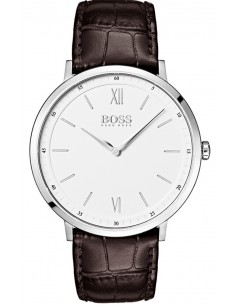Chic Time | Montre Homme Hugo Boss Essential 1513646 Cuir marron bracelet  | Prix : 199,00 €