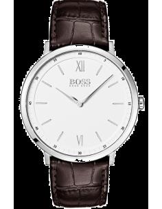 Chic Time | Montre Homme Hugo Boss Essential 1513646 Cuir marron bracelet  | Prix : 199,00€