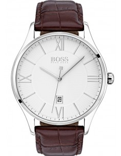 Chic Time | Montre Homme Hugo Boss Governor 1513555 Cuir marron bracelet  | Prix : 199,00 €