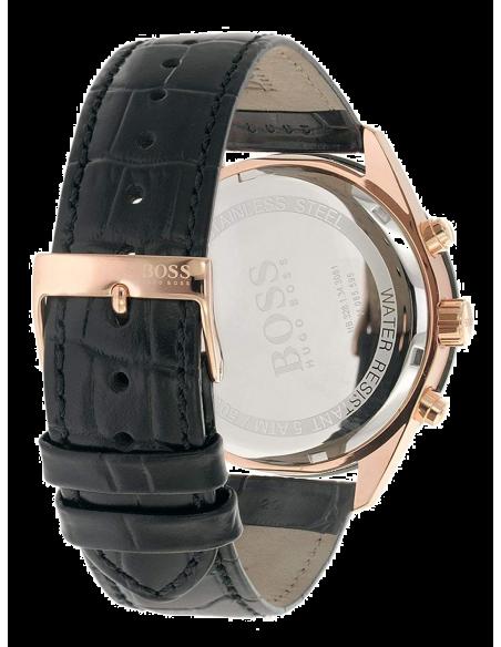 Chic Time   Montre Hugo Boss Talent 1513580 Chronographe Cuir noir bracelet    Prix : 230,30€