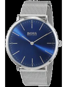 Chic Time | Montre Homme Hugo Boss Horizon 1513541 Argent bracelet en mesh  | Prix : 249,00€