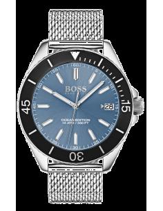 Chic Time | Montre Homme Hugo Boss Ocean Edition 1513661 Argent  | Prix : 239,20€