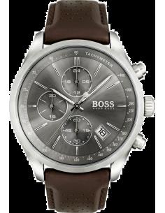 Chic Time | Montre Homme Hugo Boss Grand Prix 1513476 Bracelet cuir marron  | Prix : 167,40€