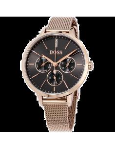Chic Time | Montre femme Hugo Boss Symphony 1502424 Bracelet doré or rose  | Prix : 279,00€