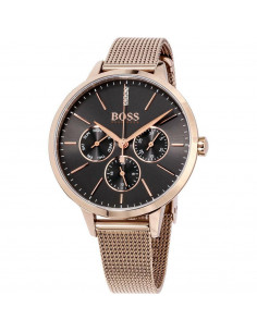 Chic Time | Montre femme Hugo Boss Symphony 1502424 Bracelet doré or rose  | Prix : 359,00 €