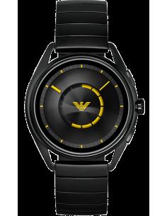 Chic Time | Montre Homme Emporio Armani Connected ART5007 Hybrid Smartwatch avec bracelet en acier noir  | Prix : 369,00€