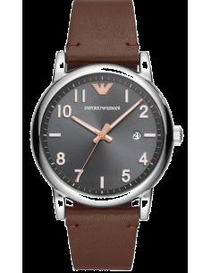 Chic Time | Montre Homme Emporio Armani AR11175 Cuir marron bracelet  | Prix : 224,25€