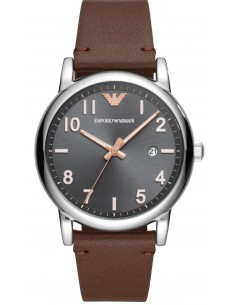 Chic Time | Montre Homme Emporio Armani Luigi AR11175 Cuir marron bracelet  | Prix : 119,40€
