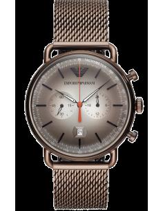 Chic Time | Montre Homme Emporio Armani AR11169 Chronographe avec mesh bracelet  | Prix : 314,25€