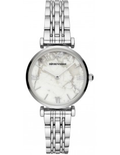 Chic Time | Montre Femme Emporio Armani Gianni AR11170 Argent bracelet  | Prix : 164,50€