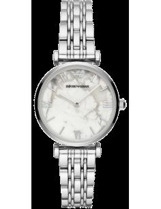 Chic Time | Montre Femme Emporio Armani Gianni AR11170 Acier Gris  | Prix : 164,50€