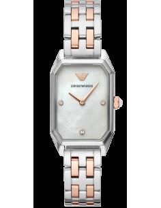 Chic Time | Montre Femme Emporio Armani Gioia AR11146 deux tons Acier  | Prix : 263,20€