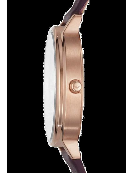 Chic Time | Montre Femme Emporio Armani Kappa AR11172 Cuir violet bracelet  | Prix : 159,20€