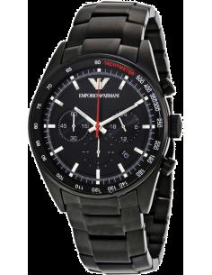 Chic Time | Montre Homme Emporio Armani AR6094 Chronographe Avec noir Acier  | Prix : 246,75€