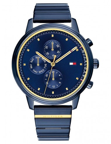 Chic Time | Montre Femme Tommy Hilfiger Gigi Hadid 1781893 Bleu  | Prix : 249,00€