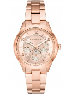 Chic Time | Montre Femme Michael Kors Runway MK6589 Or rose  | Prix : 245,65 €