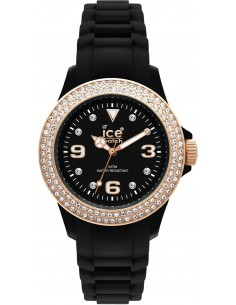 Chic Time | Montre Ice-Watch Resine Stone Sili ST.BK.S.S.09  | Prix : 103,35 €