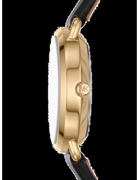 Chic Time | Montre Femme Michael Kors Portia MK2750 Bracelet cuir noir  | Prix : 249,00€