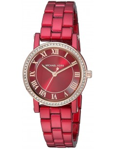 Chic Time | Montre Femme Michael Kors Parker MK3896 Rouge  | Prix : 279,00€