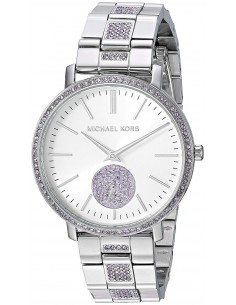 Chic Time | Montre Femme Michael Kors Jaryn MK3855 Argent  | Prix : 209,00€