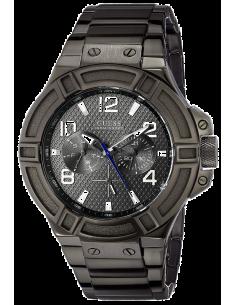 Chic Time | Montre Homme Guess Sporty W0218G1 Noir  | Prix : 289,00€