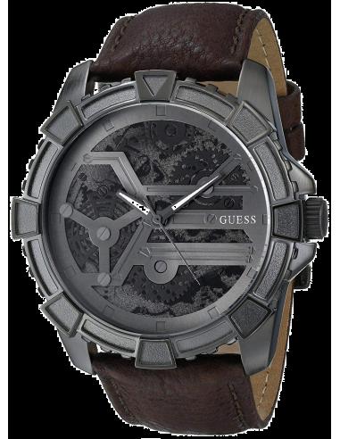 Chic Time | Montre Homme Guess Trend W0274G1 Motifs rouages sur le cadran  | Prix : 289,00€