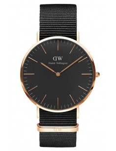 Chic Time | Montre Daniel Wellington Classic Black DW00100148 Noir  | Prix : 127,20 €