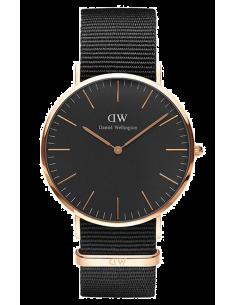 Chic Time | Montre Daniel Wellington Classic Black DW00100148 Noir  | Prix : 79,50€