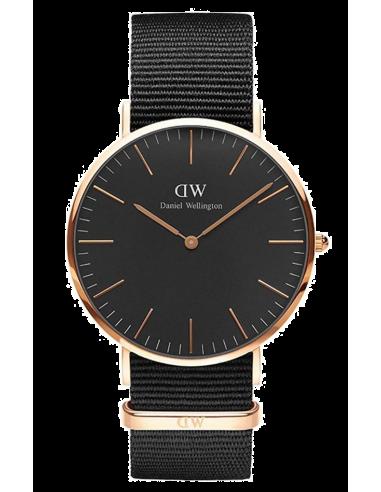 Chic Time   Montre Daniel Wellington Classic Black DW00100148 Noir    Prix : 79,50€