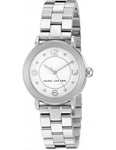 Chic Time | Montre Femme Marc by Marc Jacobs RIley MJ3472 Argent  | Prix : 119,40 €