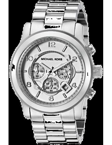 Chic Time   Montre Michael Kors MK8086 Runway Argenté    Prix : 237,15€